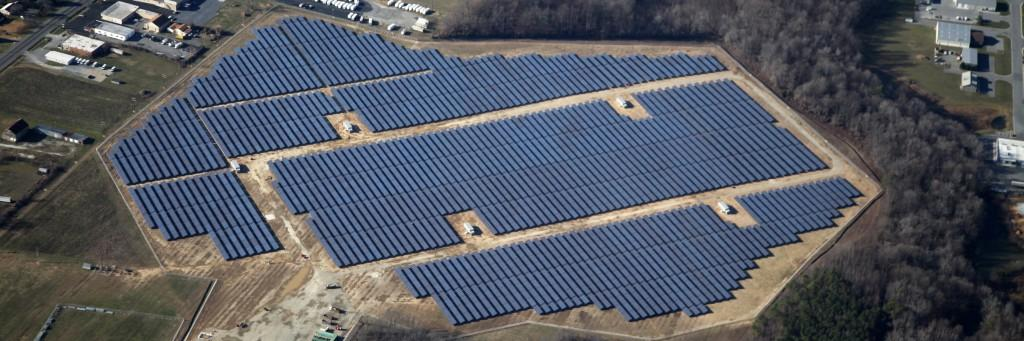 Solarpark Milford Solar Juwi